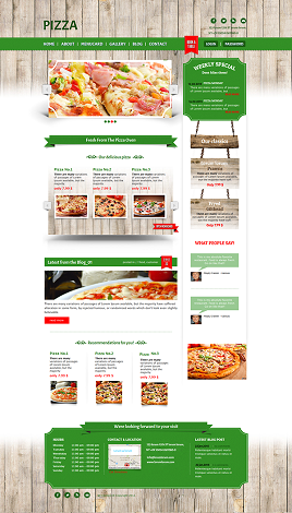 Pizza outlet
