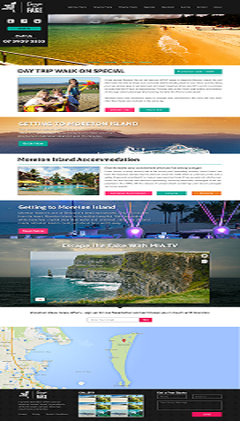 Travelling website
